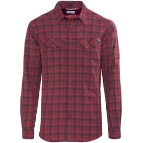 Columbia Silver Ridge Plaid overhemd lange mouwen Heren rood